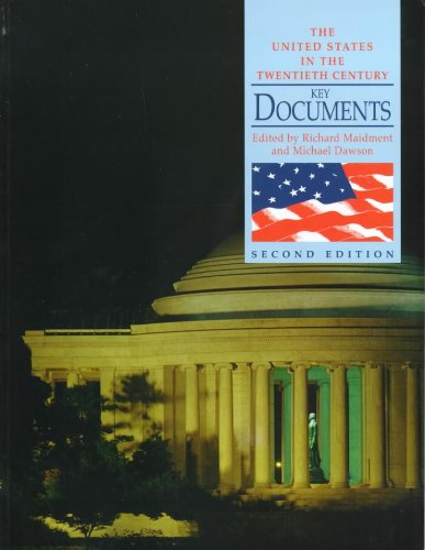 9780340758274: The United States in the Twentieth Century: Key Documents