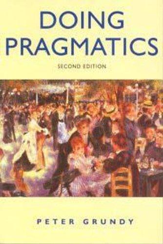 9780340758922: Doing Pragmatics, 2Ed (Hodder Arnold Publication)
