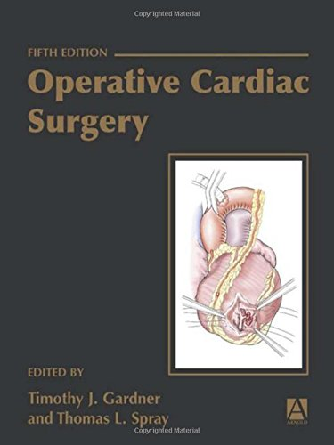 9780340759745: Operative Cardiac Surgery, Fifth edition (Medicine) (Rob & Smith's Operative Surgery Series)