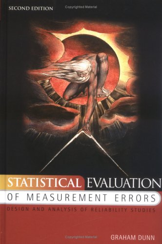 9780340760703: Statistical Evaluation of Measurement Errors: Design and Analysis of Reliability Studies
