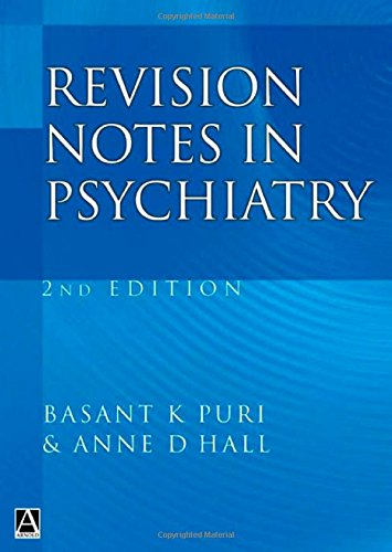 9780340761311: Revision Notes in Psychiatry, Second Edition