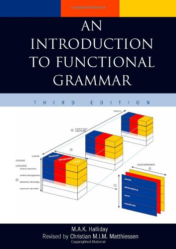 9780340761670: An Introduction to Functional Grammar
