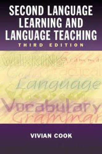 9780340761922: Second Language Learning and Language Teaching, 3Ed