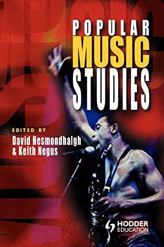 9780340762486: Popular Music Studies (Hodder Arnold Publication)