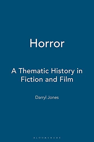 9780340762530: Horror: A Thematic History in Fiction and Film