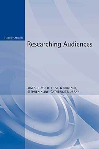 ISBN 9780340762745 product image for Researching Audiences: A Practical Guide to Methods in Media Audience Analysis | upcitemdb.com