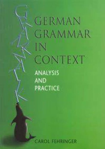 9780340763100: German Grammar in Context (Languages in Context) (German Edition)