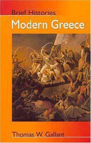 9780340763360: Modern Greece (Brief Histories)