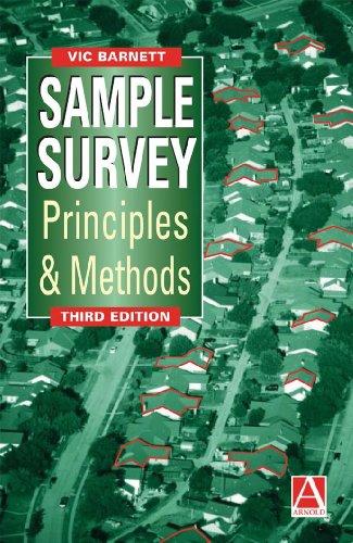9780340763988: Sample Survey Principles and Methods (Mathematics)