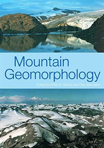 9780340764176: MOUNTAIN GEOMORPHOLOGY (Arnold Publication)