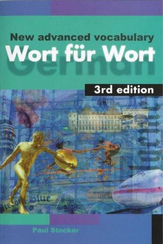 Wort fur Wort 3rd edn: A New: Stocker, Paul