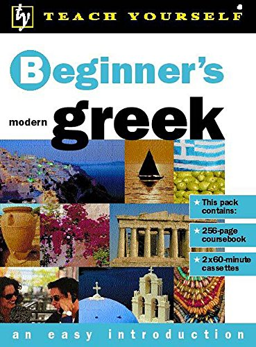 9780340774434: Beginner's Greek (Teach Yourself)