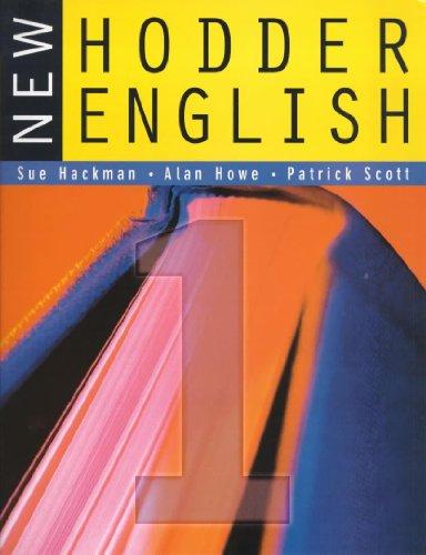 9780340775363: New Hodder English 1