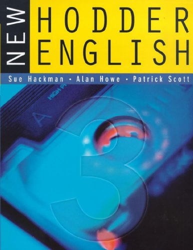 9780340775387: New Hodder English 3