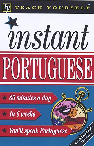 9780340775400: Teach Yourself Instant Portuguese (TYL)