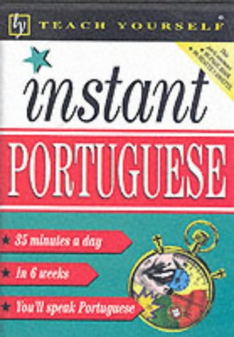 9780340775417: Teach Yourself Instant Portuguese: Book/Cassette Pack (TYL)