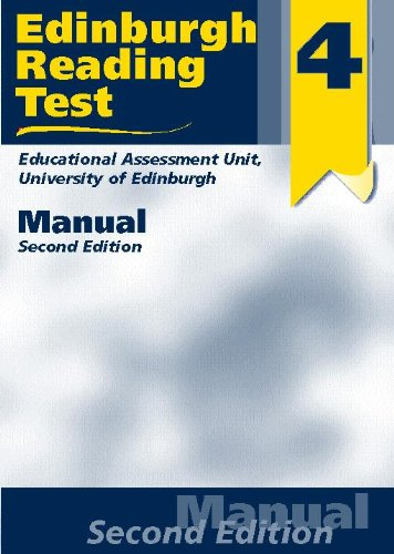 9780340775868: Edinburgh Reading Tests: Test Booklet Stage 4: A Series of Diagnostic Teaching Aids