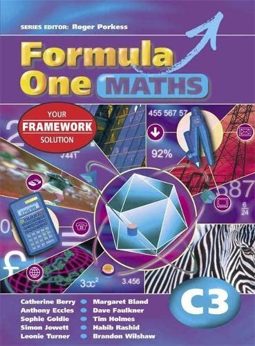 Formula One Maths: Pupil's Book Bk. C3: Jowett, Simon, Rashid,