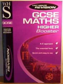 9780340781265: WHSmith GCSE Maths Higher Booster