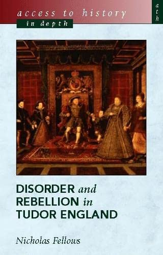 9780340781432: Access To History In Depth: Disorder and Rebellion in Tudor England