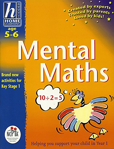 Mental Maths: Age 5-6 (Hodder Home Learning: Age 5-6): Atkinson, Sue