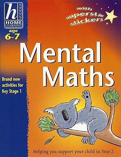 9780340783436: Mental Maths (Hodder Home Learning: Age 6-7)