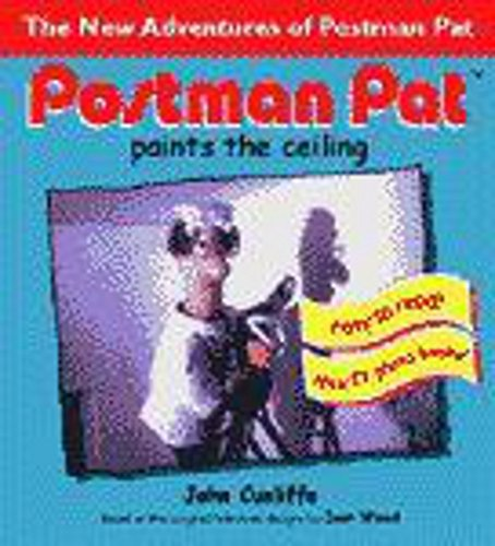 9780340785089: Postman Pat Paints the Ceiling (Postman Pat Photo Book)