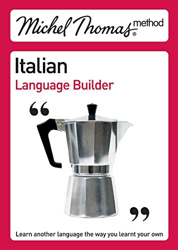 9780340789759: Michel Thomas Italian Language Builder (Michel Thomas Series)