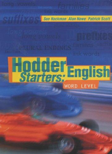 9780340790724: Hodder English Starters: Word Level (New Hodder English 1, 2, 3)