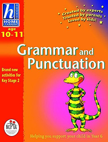 9780340791851: Hodder Home Learning Age 10-11 Grammer & Punctuation