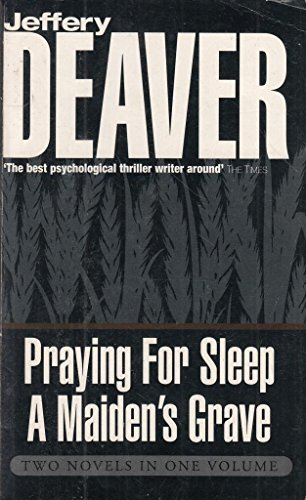 9780340793930: Praying for Sleep: AND Maiden's Grave
