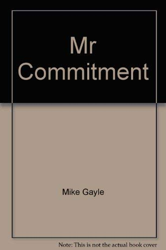 9780340798898: Mr Commitment