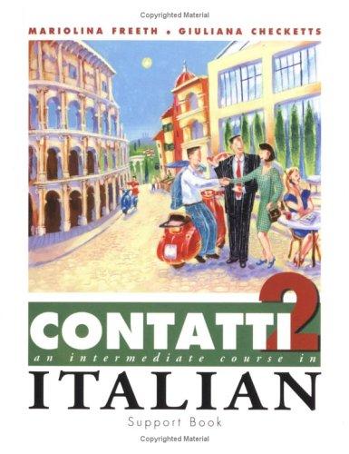 9780340800201: Contatti 2: Support Book (Italian Edition)
