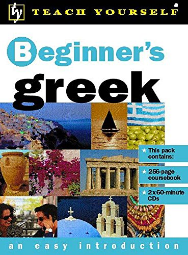 9780340802489: Beginner's Greek (Teach Yourself)