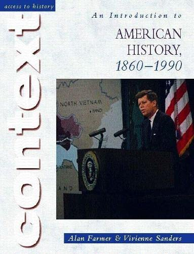 9780340803264: An Introduction to American History, 1860-1990 (Access to History Context)