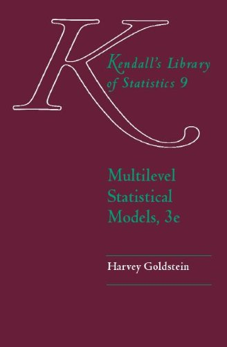 9780340806555: Multilevel Statistical Models (Kendall's Library of Statistics)