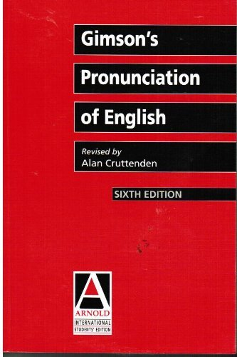 9780340806685: Gimson's Pronunciation of English