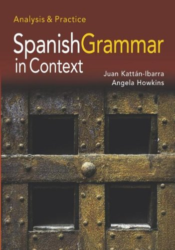 9780340807903: Spanish Grammar in Context: Analysis and Practice (Hodder Arnold Publication) (Spanish Edition)