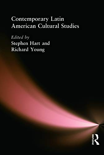 9780340808221: Contemporary Latin American Cultural Studies