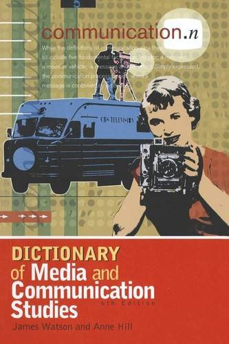 9780340808290: Dictionary of Media and Communication Studies