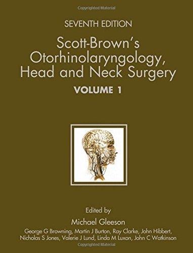9780340808931: Scott-Brown's Otorhinolaryngology: Head and Neck Surgery 7Ed: 3 volume set (Hodder Arnold Publication)