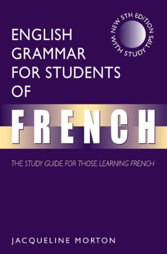 9780340809136: English Grammar for Students of French, 5Ed: The Study Guide for Those Learning French