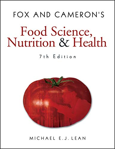 Fox and Cameron's Food Science, Nutrition &: Lean, Michael EJ
