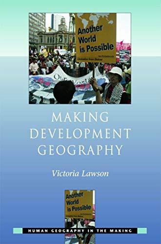 9780340809648: Making Development Geography (Human Geography