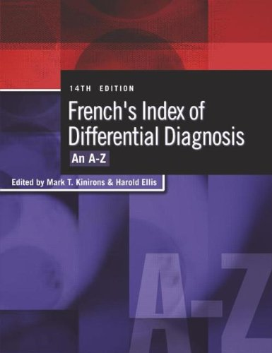 9780340810477: French's Index of Differential Diagnosis 14Ed: An A-Z