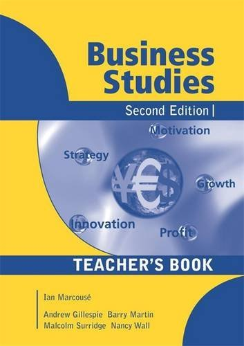 9780340811115: Business Studies 2nd Edition Teacher's Edition: Teacher's Book