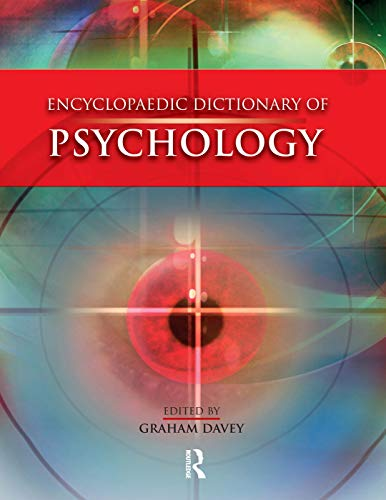 9780340812389: Encyclopaedic Dictionary of Psychology