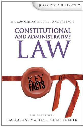 9780340812723: Key Facts: Constitutional & Administrative Law