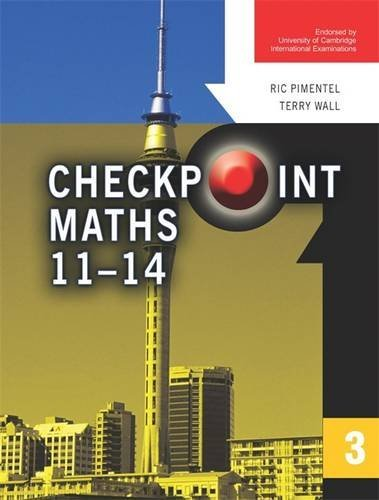Checkpoint Maths Book 3 (Modular Maths for Edexcel) (Bk. 3) (9780340812938) by Ric Pimentel; Terry Wall