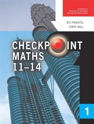 Checkpoint Maths Book 1 (Modular Maths for Edexcel) (9780340812952) by Ric Pimentel; Terry Wall